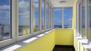 Способы остекления балконов